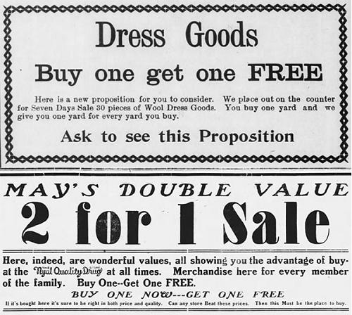 """Khuyến mãi """"mua 1 tặng 1"""" chẳng hề rẻ như chúng ta vẫn nghĩ"""
